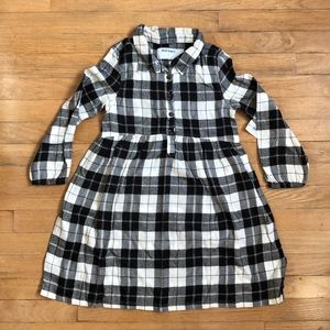 Old Navy Black & White Plaid dress